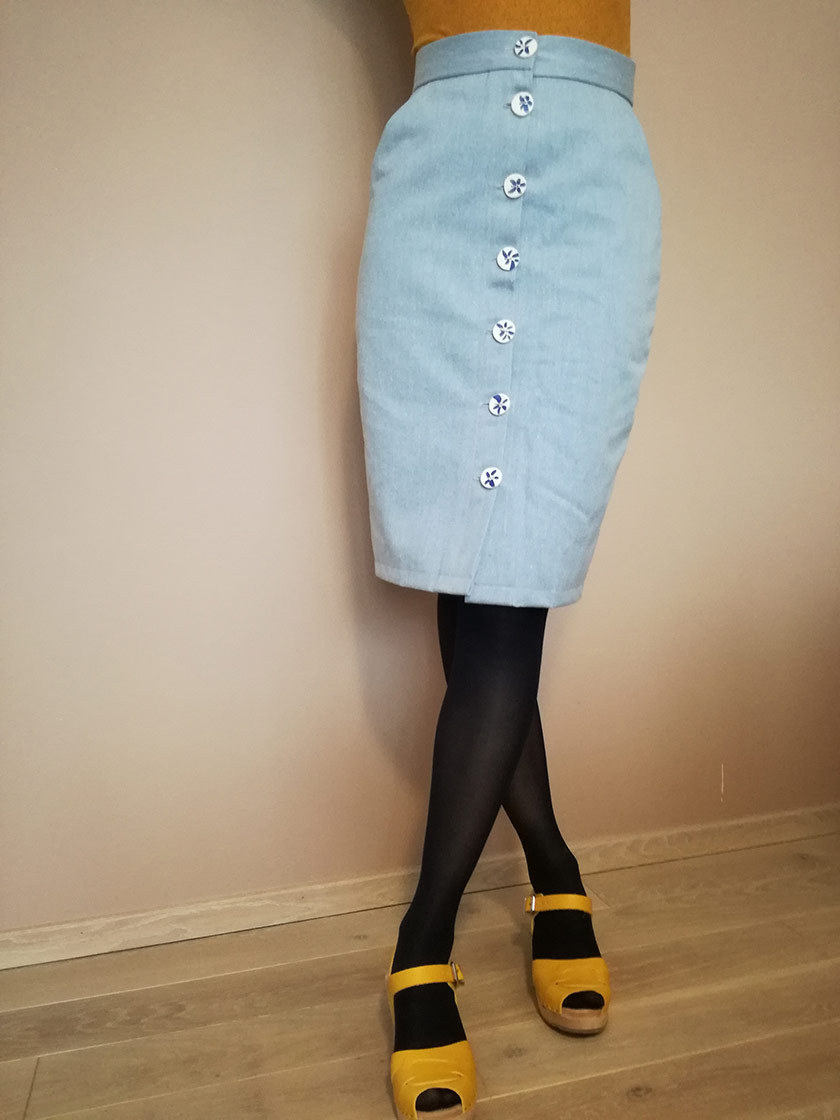 #1 City Capsule Wardrobe: The Erin skirt pattern by Sew Over It