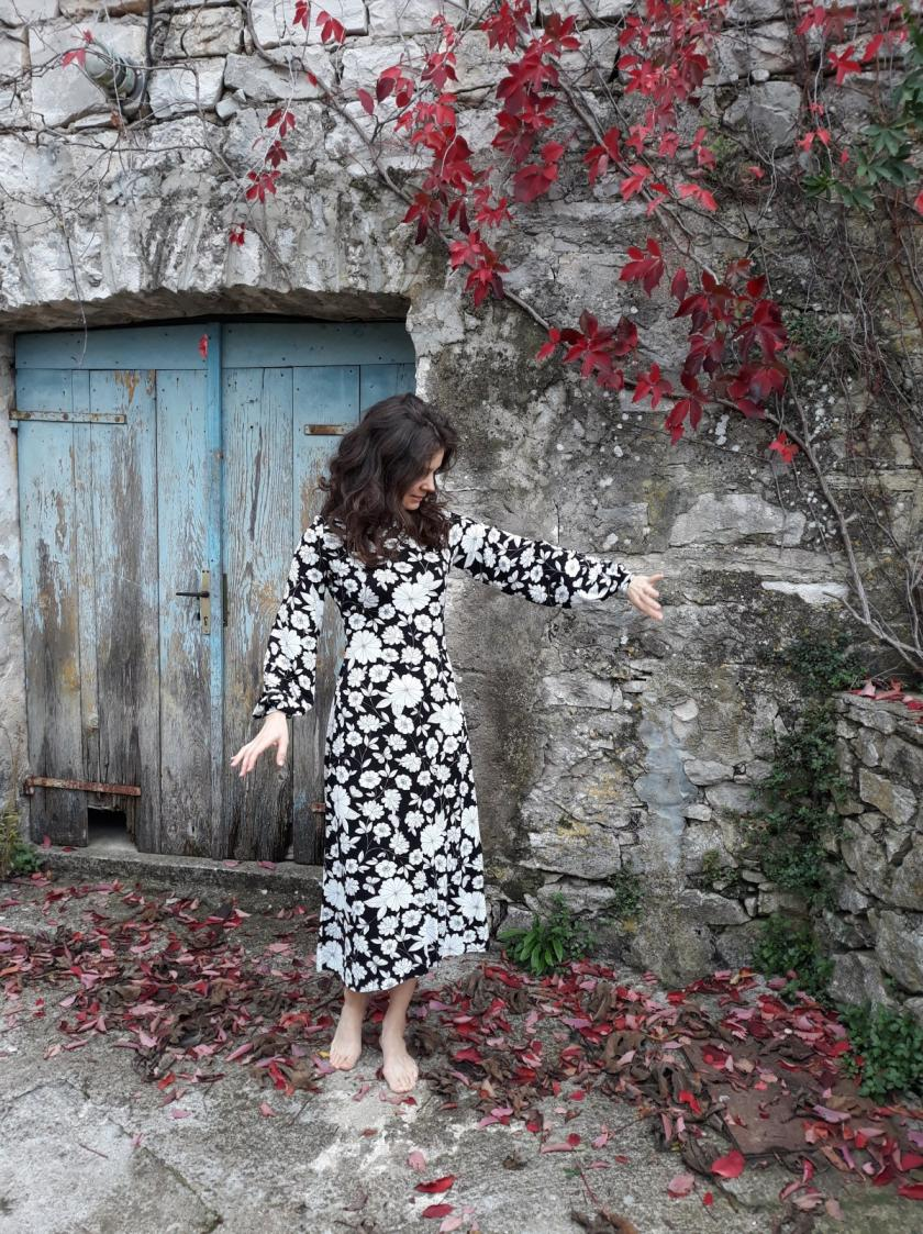 Tilly and the Buttons Freya dress pattern duo
