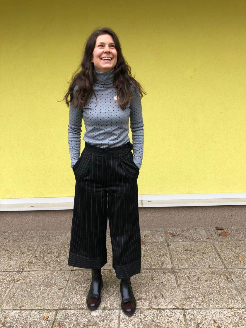 Wool Flint pants / Vunene Flint hlače – by Megan Nielsen