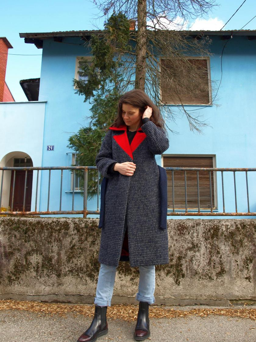 Halla Coat by Named Patterns – Breaking the Pattern book