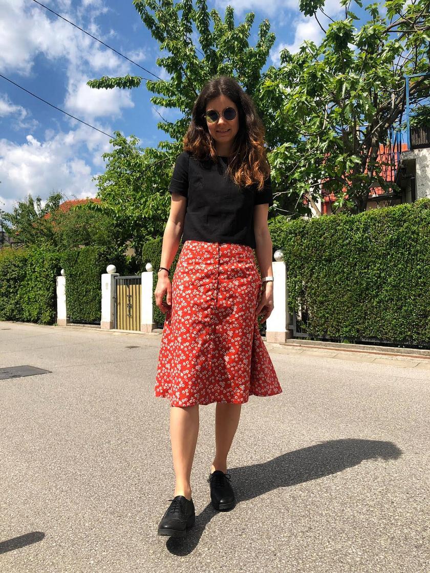 Kew skirt by Nina Lee Patterns