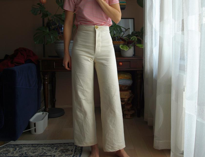 White Persephone Pants – yes or no?